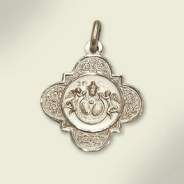 Medalla en plata. 23 mm.